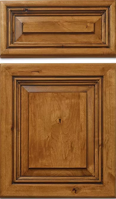 San Miguel Knotty Cabinet Face